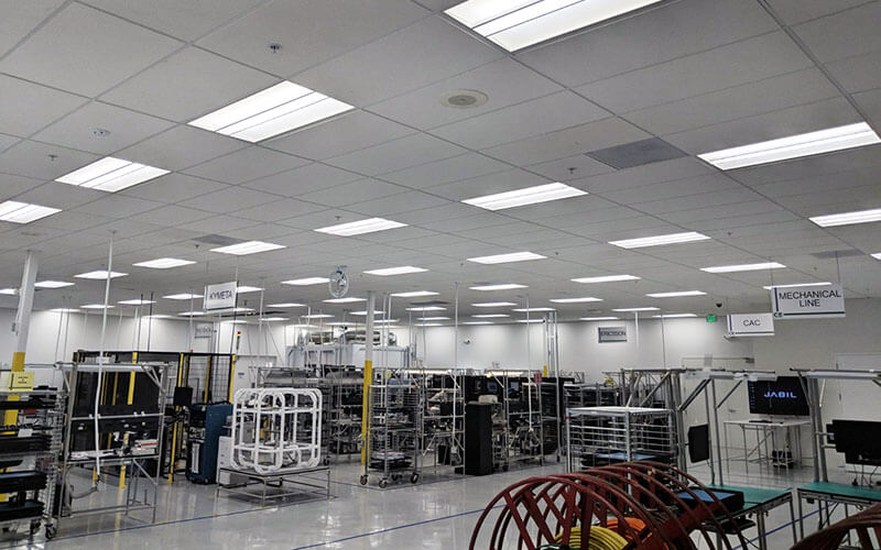 Manufacturing Facility LED Lights