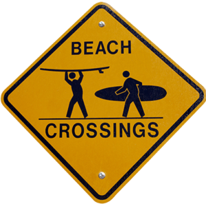 Surfer-Crossing